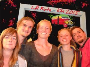 Ellen, Adrien, Anna, Lien en Pablo