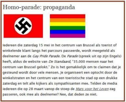homoparade is propaganda_bruin randje
