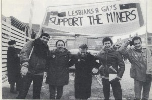 Members of the Lesbians' and Gay men's miners' support group_JS33915622.jpg