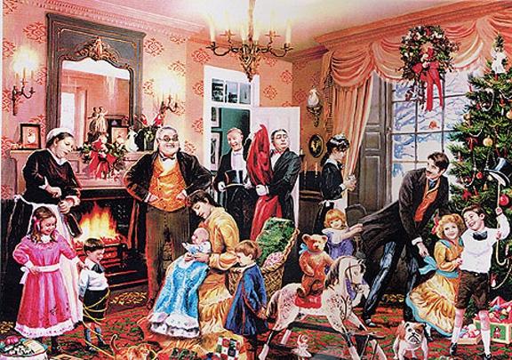 Kerstfeest bij Karl Marx_Huiskamer_0001