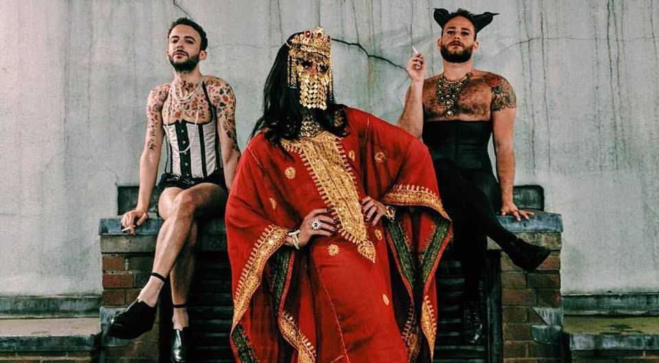 Photo of Arab men in drag has become a symbol of solidarity with the Orlando shooting victims